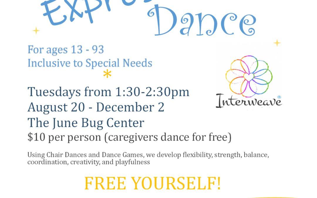 Expressive Dance @ June Bug in Floyd, VA