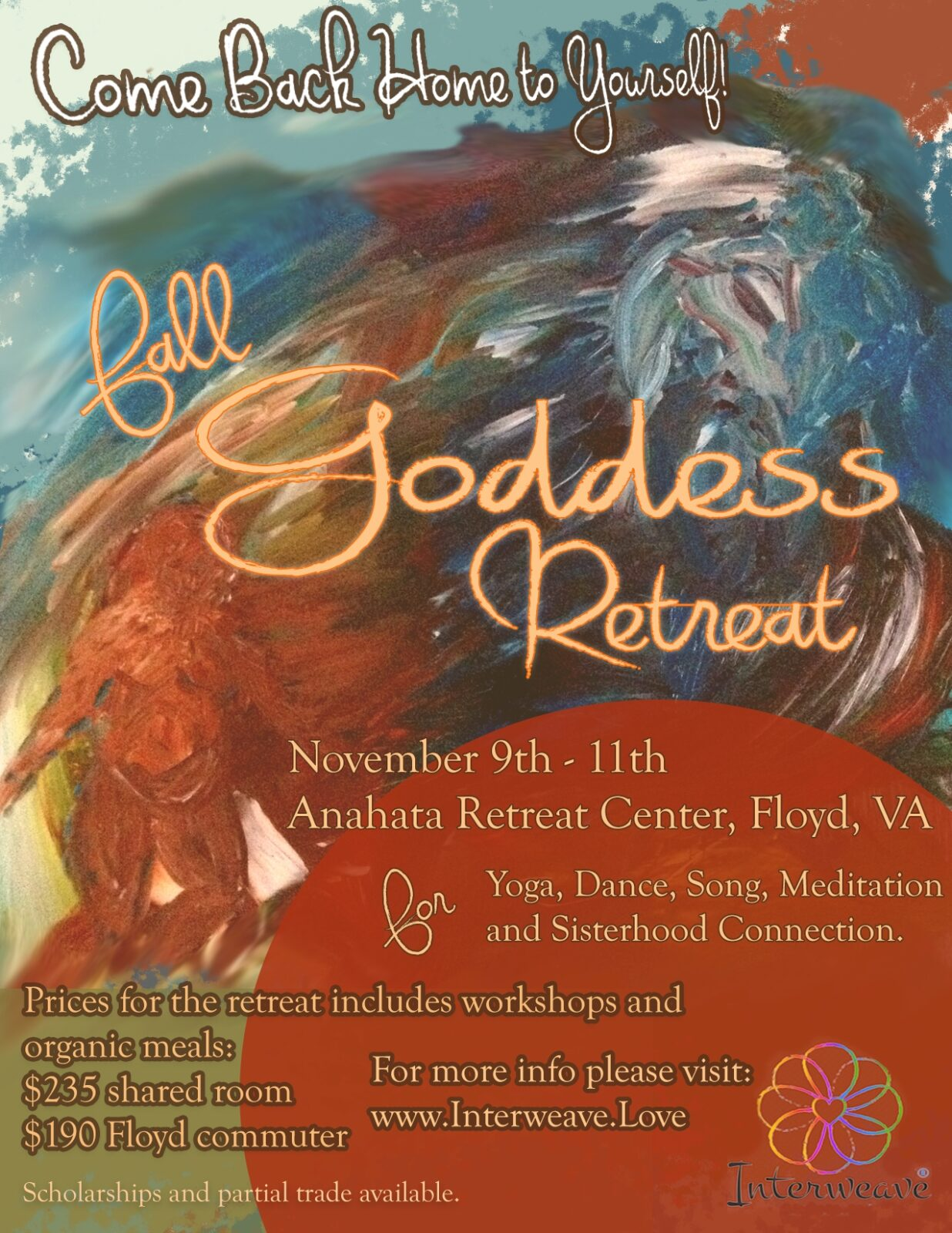 Goddess Retreat – Floyd, VA