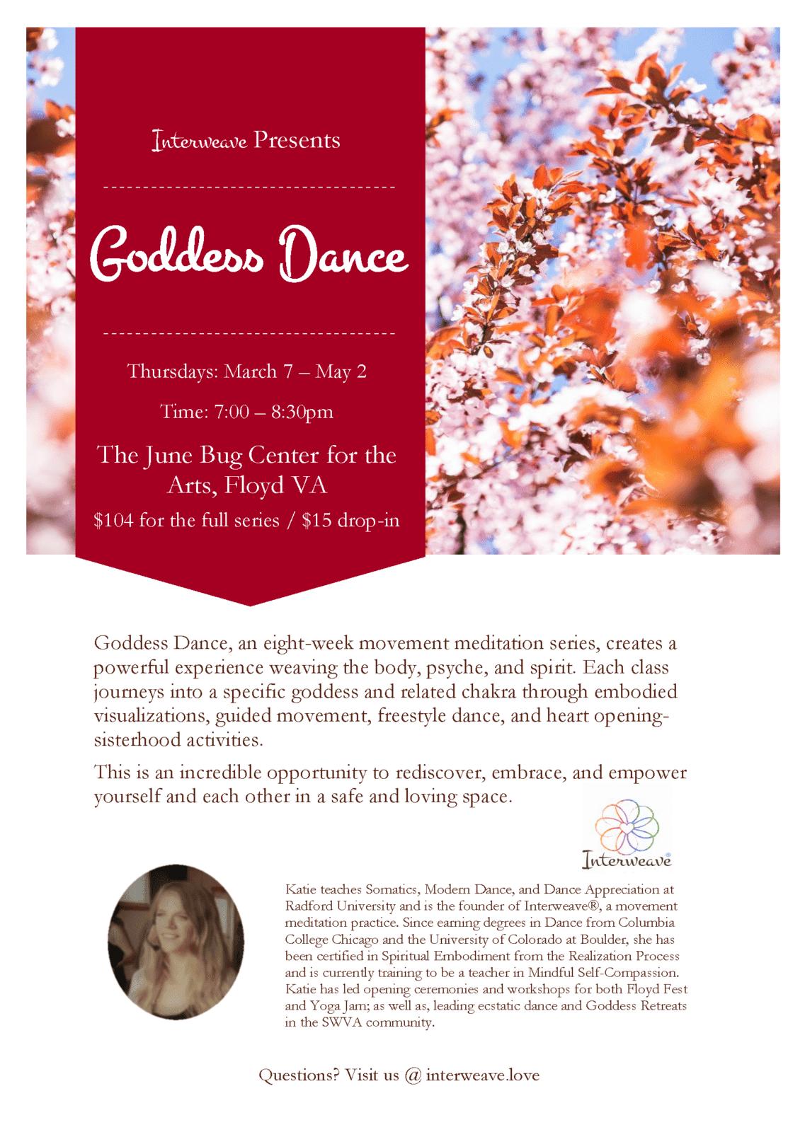 Spring Goddess Dance