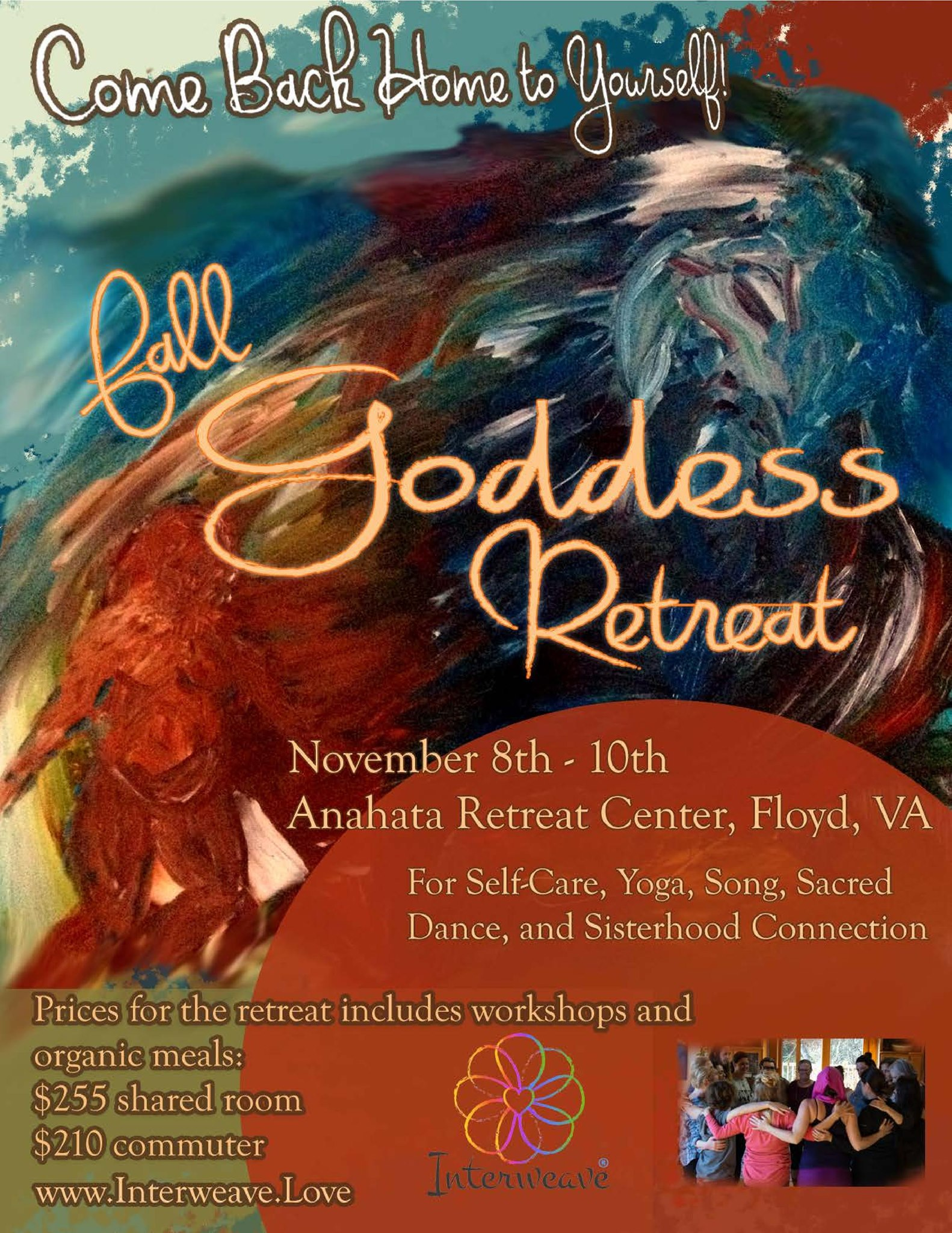 Goddess Retreat at Anahata Education Center in Floyd